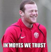 Wayne Rooney backed David Moyes