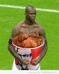 Mario Balotelli Half Time Snack